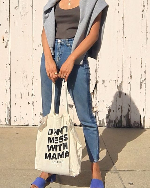 This bag says it all...💪🏽✨🌎 Tomorrow is the #globalclimatestrike and ill be joining @sustainablesdsu at SDSU to stand with our youth and future!!! We cannot afford to be silent anymore. Let me know if your joining the fight either at the strikes or the actions you make day to day 💪🏽✨🌎