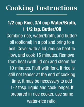 Click For Rice Recipes!