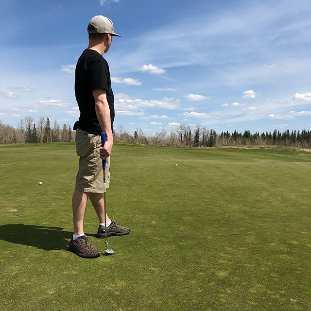 Great day golfing with my boys today. Looking forward to another fun night in Calgary 🇨🇦🏌🏼♂️🍻