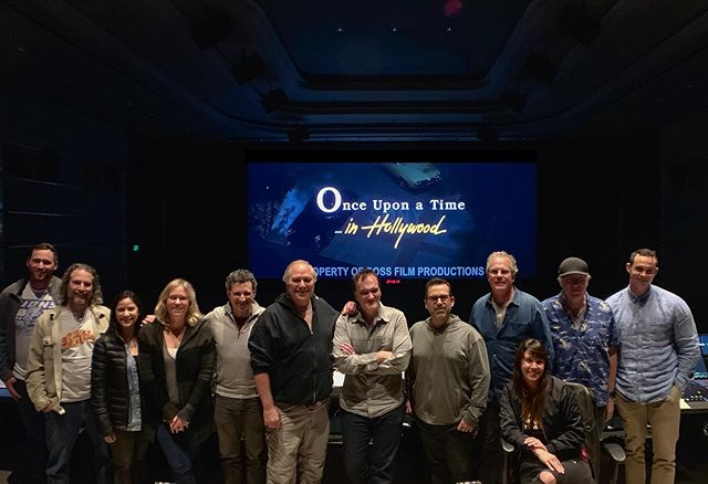 #onceuponatimeinhollywood mix crew 2019. Such an amazing time on an amazing film. 📽🎞🎼🎬