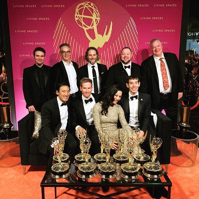 #freesolofilm just steamrolled the #emmys tonight! 7 noms, 7 wins! Love this film, love this crew, and so very grateful to have been a part of it.