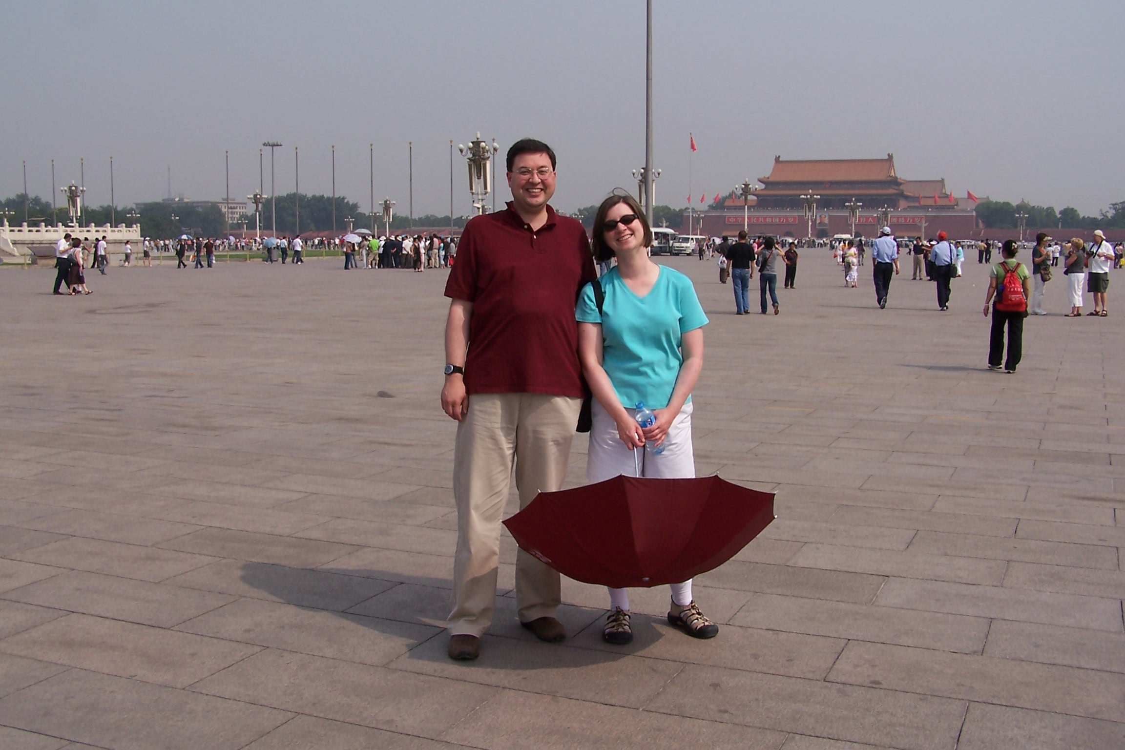 Us in Tiananmen.JPG