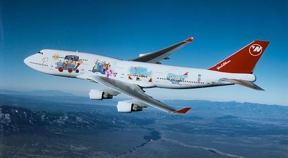 Northwest Airlines publicity photo