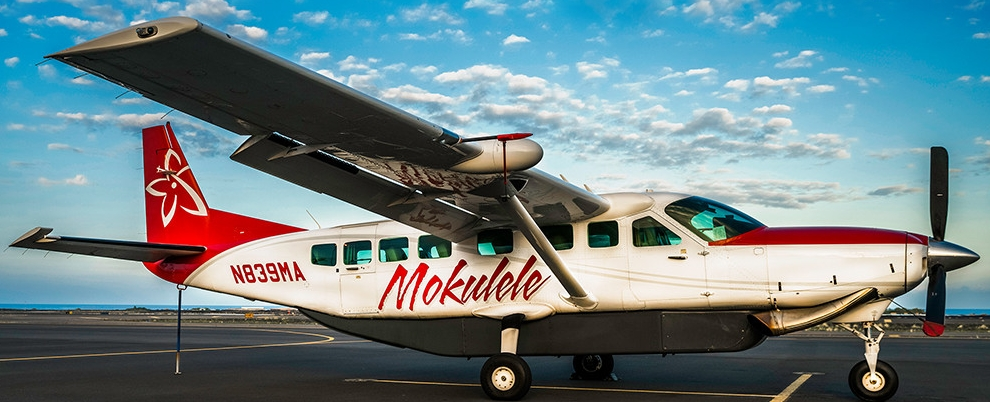 Image courtesy Mokulele Airlines