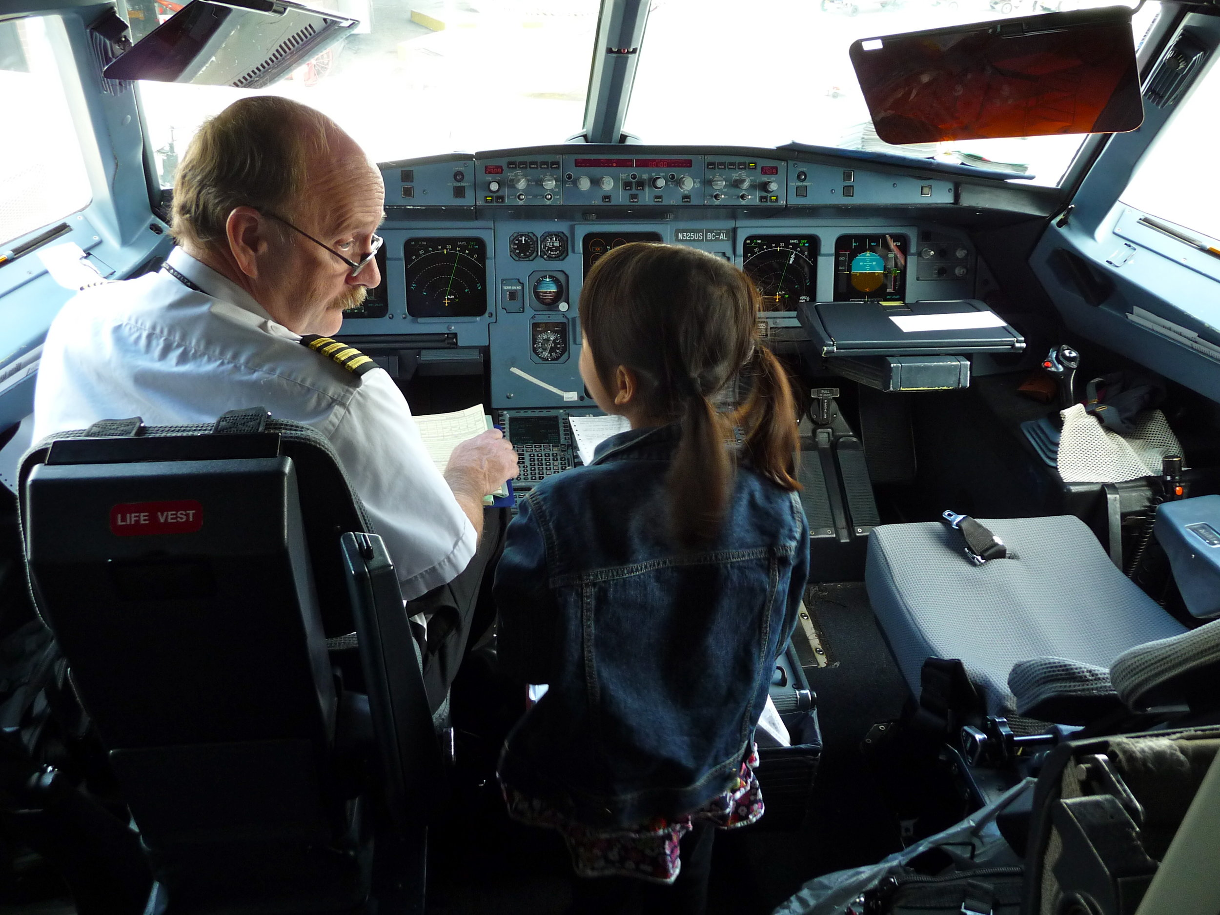 Kids should be involved at every point in the flight-preparation process, of course!