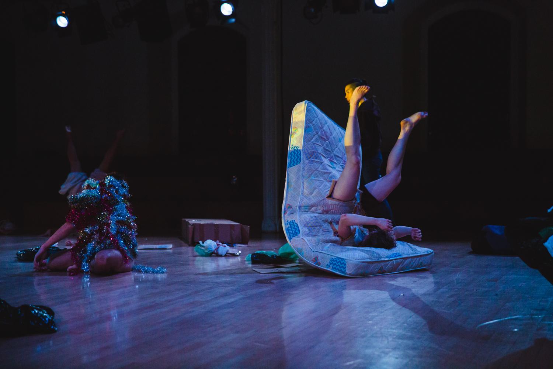 photo by David Gonsier | Dancers Kaia Gilje, Alvaro Gonzalez, Emily Smith, Maira Duarte