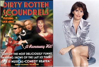 "Lucie Arnaz in ""Dirty Rotten Scoundrels,"" 2007."