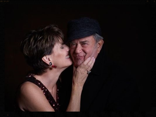 Lucie Arnaz and her husband of 35+ years, Laurence Luckinbill.