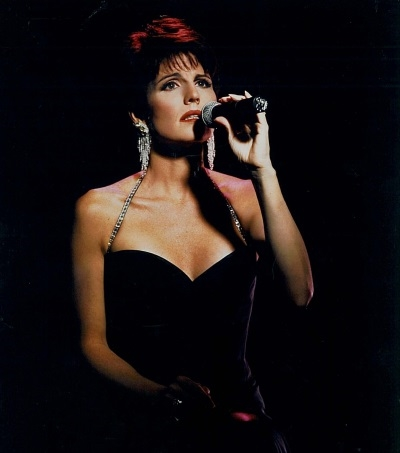 "Lucie Arnaz during her first album, ""Just In Time."""
