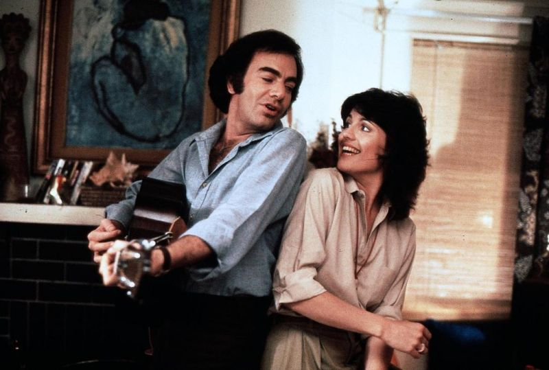 "Lucie & Neil Diamond in ""The Jazz Singer."""