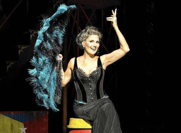 "Lucie Arnaz as ""Berthe"" in the national touring company of ""Pippin,"" 2014-2015."