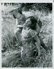 """Lucie with co-star and husband, Laurence Luckinbill in """"The Mating Season."""""""