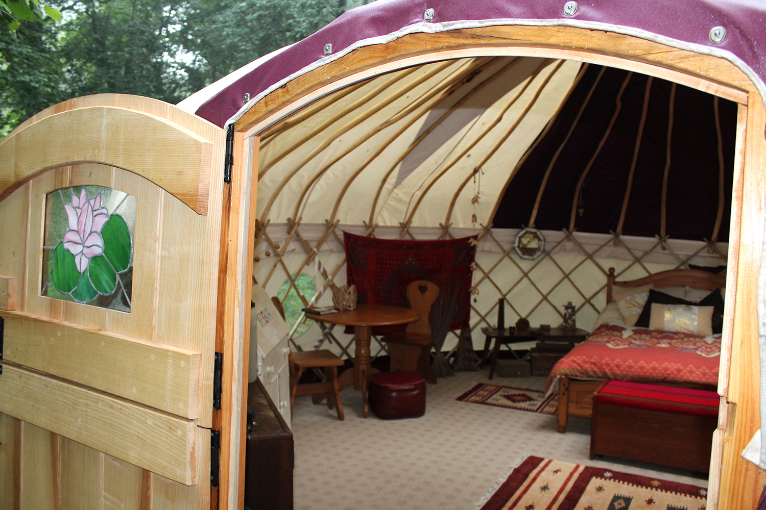 Enter a magical glamping world