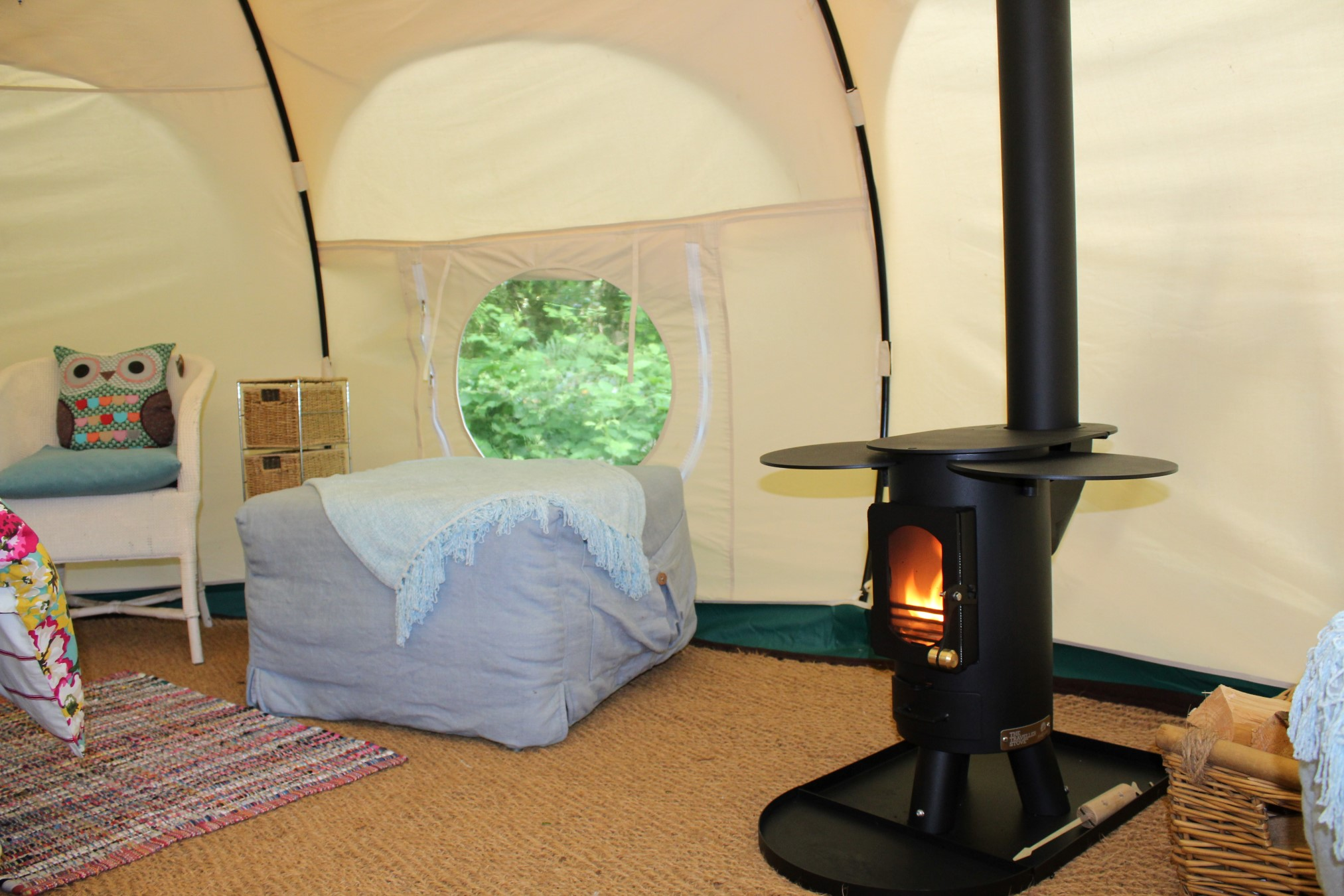 cosy glamping
