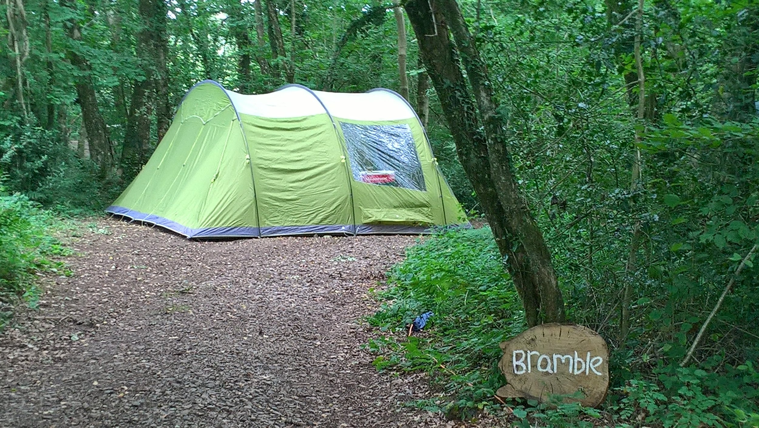 FROM £35 PER NIGHT - electric included. maximum tent size of 5m