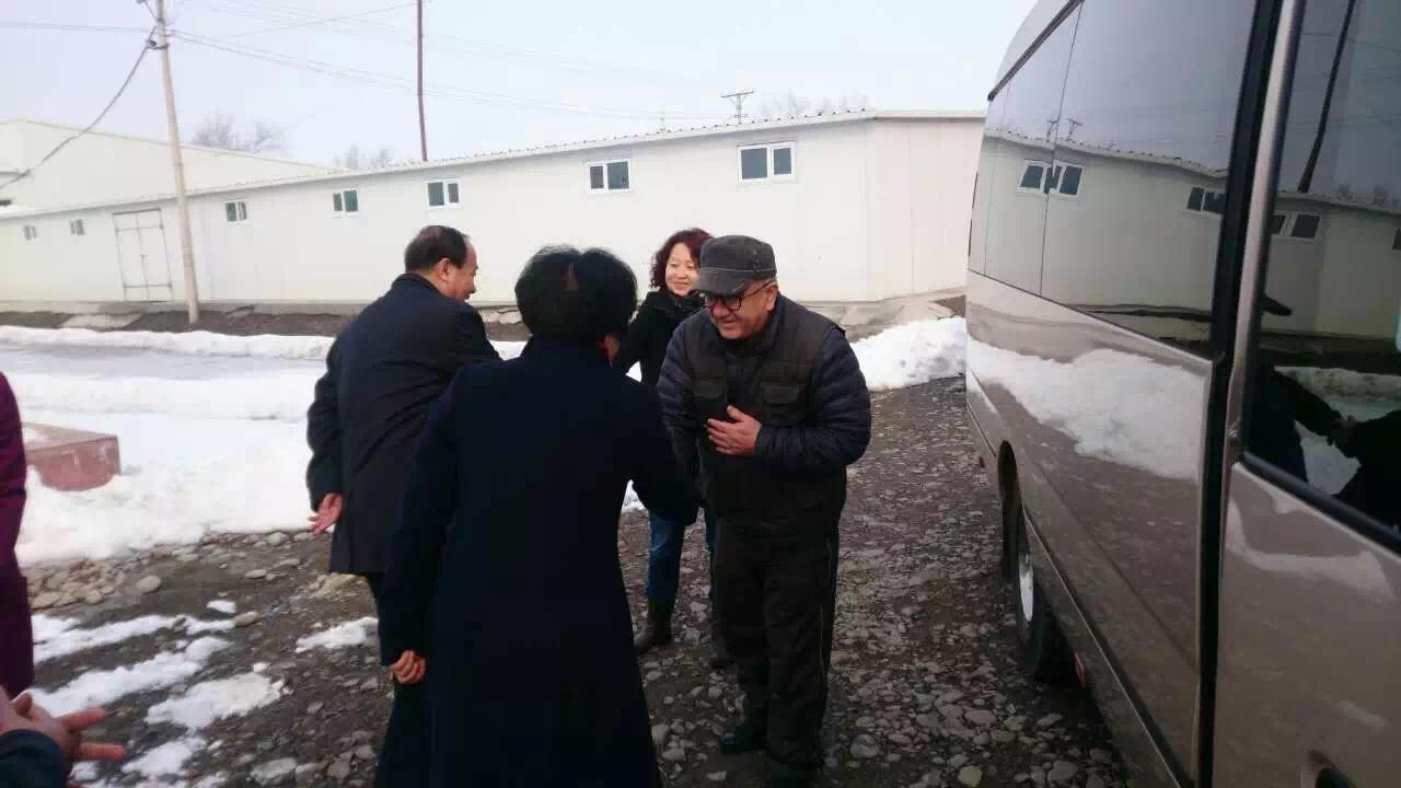 Delegates of the Fukang People's Congress visit uibek