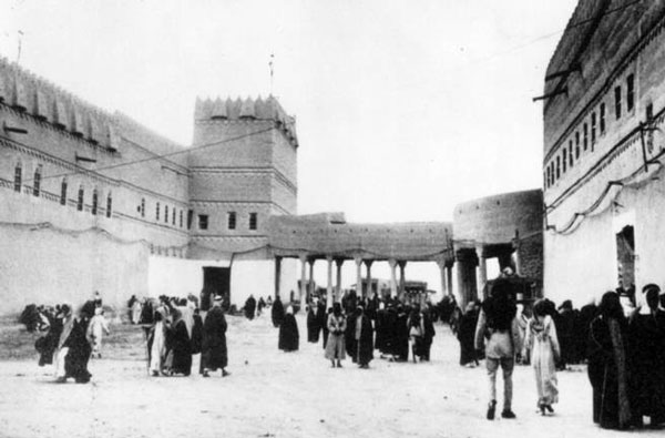 Figure 4: A view of the early-twentieth-century Qasr al-Hukm (the Justice Palace) in Old Riyadh.
