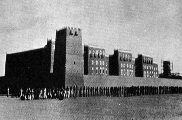 Figure 6: A view of the 1930s Qasr al-Murabba' (the Square Palace), located north of Old Riyadh.