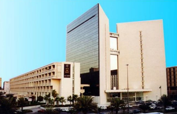 Figure 19: Views of the 1982 complex of King Faisal Foundation (known as al-Khayriyya Complex), designed by Kenzo Tange.