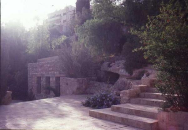 Fig. 2: Darat al-Funun garden in Jabal al-Luweibdeh, Amman
