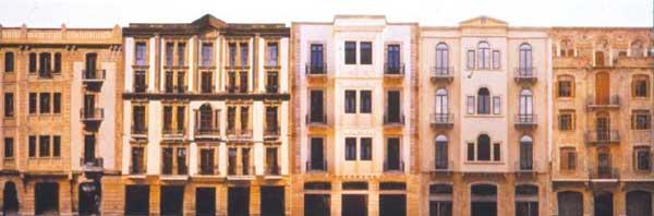 Figure 8: Historic exteriors, modern interiors.