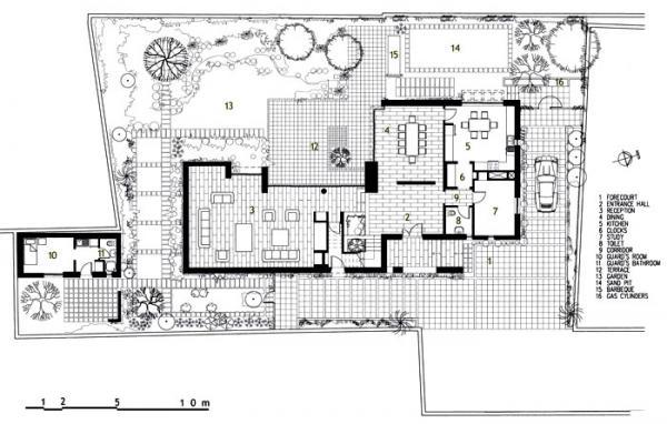 Figure 4: Abdulwahab House, ground floor plan.