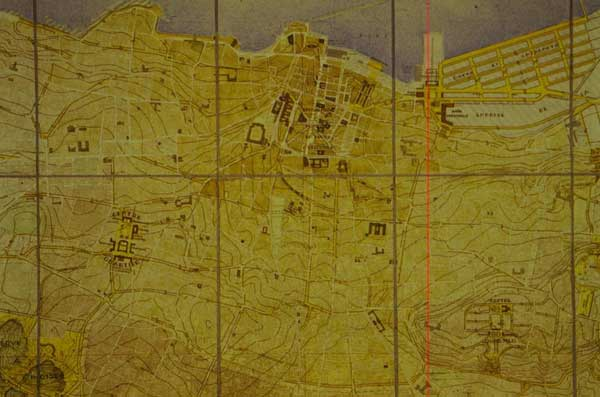 Figure 1: The 1931 Danger Master Plan for Beirut.