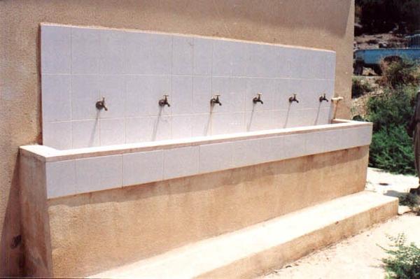 Figure 18: Existing drinking fountain at Adasiyyah Girls' School.