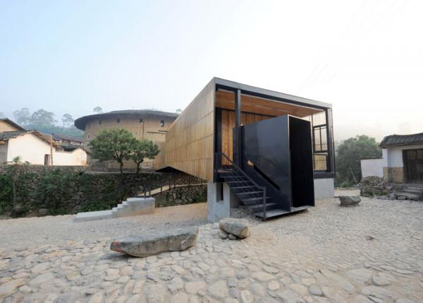 Bridge School in Xiashi in the Chinese province of Fujian. (Courtesy of the Aga Khan Award for Architecture)