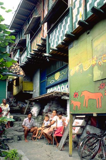 Kampung Kali Cho-de, Indonesia. © Gregorius Antar/Aga Khan Trust for Culture.