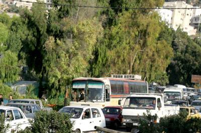 Increasing traffic congestion in Amman calls for effective management of the city's road network. (The Jordan Times)