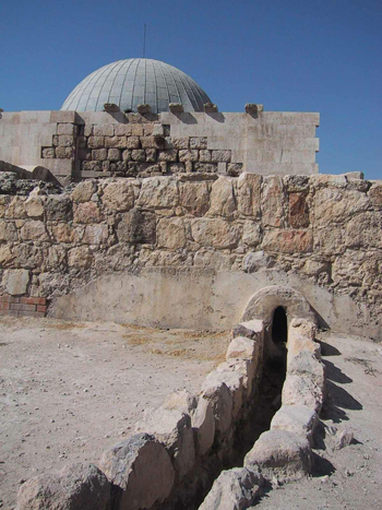 The Umayyad Palace in the Amman Citadel. (CSBE)