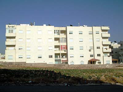 An apartment building in Amman. (The Jordan Times)