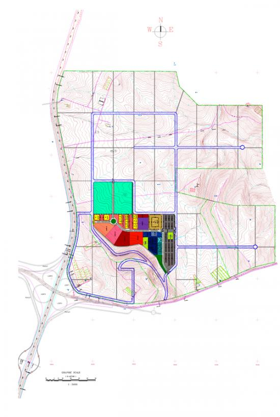 Tala Bay masterplan