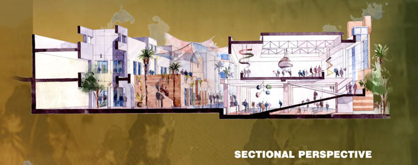 Joint entry by Tahhan and Bushnaq Architects and Turath