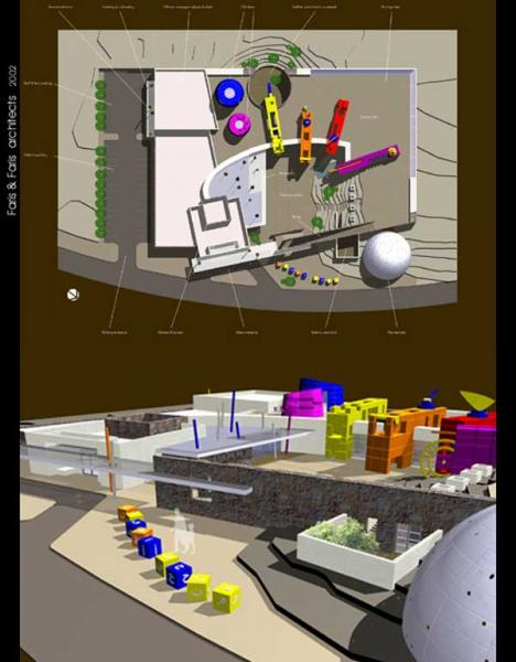 Entry by Faris and Faris Architects