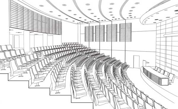The Auditorium of the Jordan National Medical Council