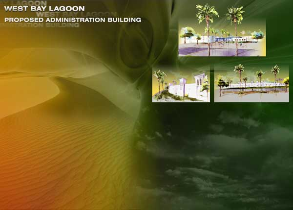 Submission by Jafar Tukan and Partners for an Administration Building in West Bay Lagoon competition