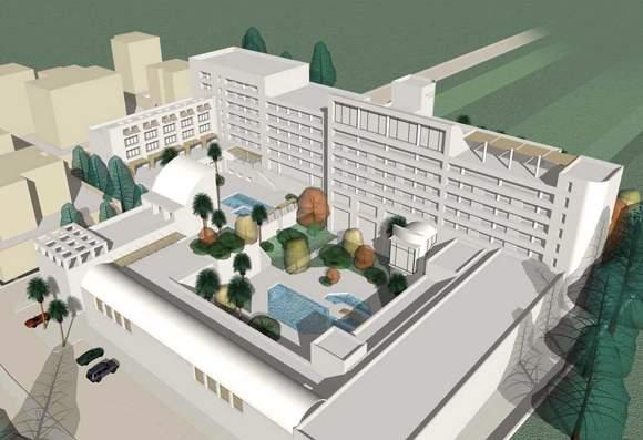 Proposed design for the Millennium Hotel