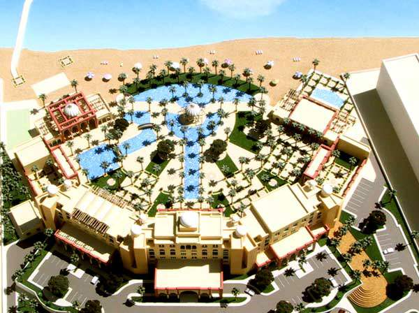 S. M. Dudin Architects and Engineers' submission for the design of of a five-star hotel competition