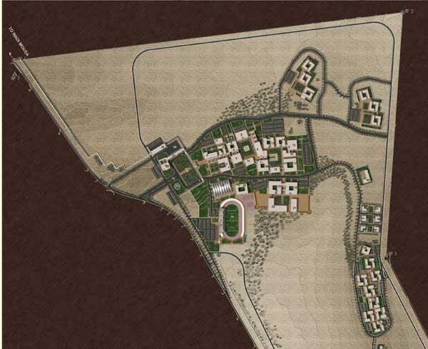 Proposed design for al-Hussein Bin Talal University