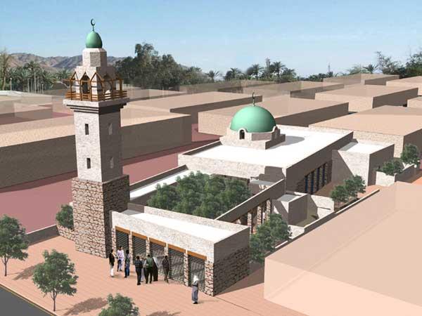 A mosque in Aqaba by Bilal Hammad Associates