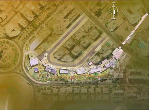 The entry for the Ayla Park Urban Development Project by Tahhan and Bushnaq Architects