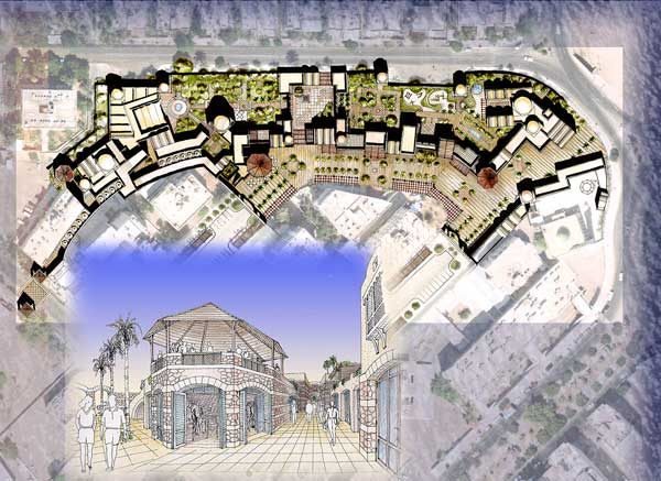 The entry for the Ayla Park Urban Development Project by GDAR