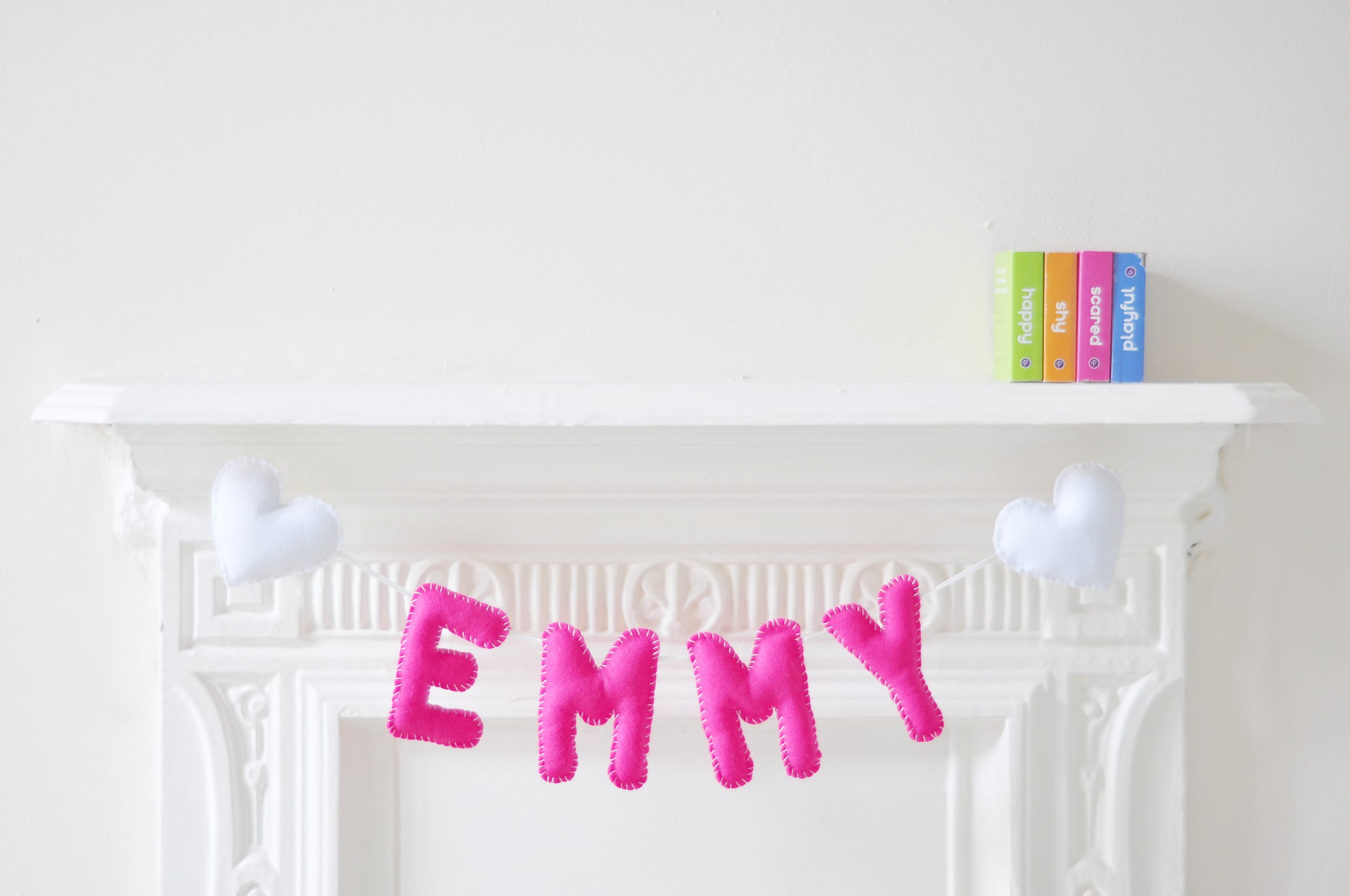 EMMY BABY NAME BUNTING