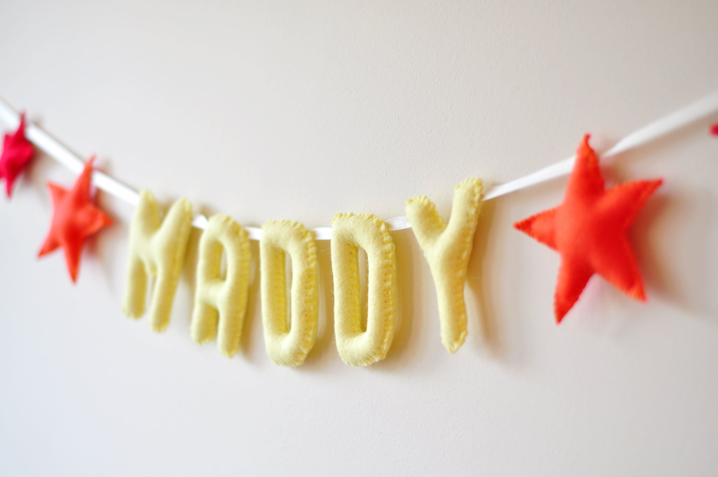 MADDY BABY NAME BUNTING