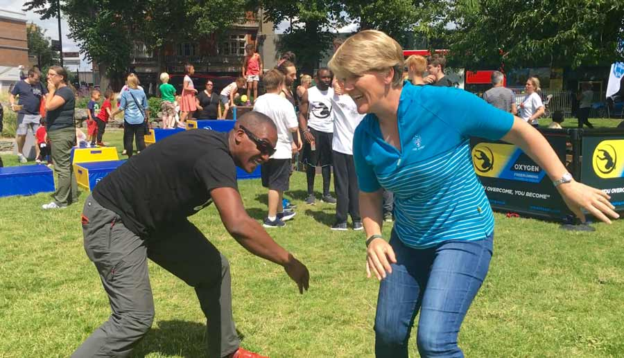 Primal Play Tag with Clare Balding