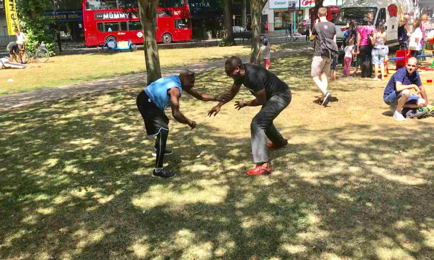 Playing   Primal Play Tag   with Sebastien Foucan (of Casino Royale)