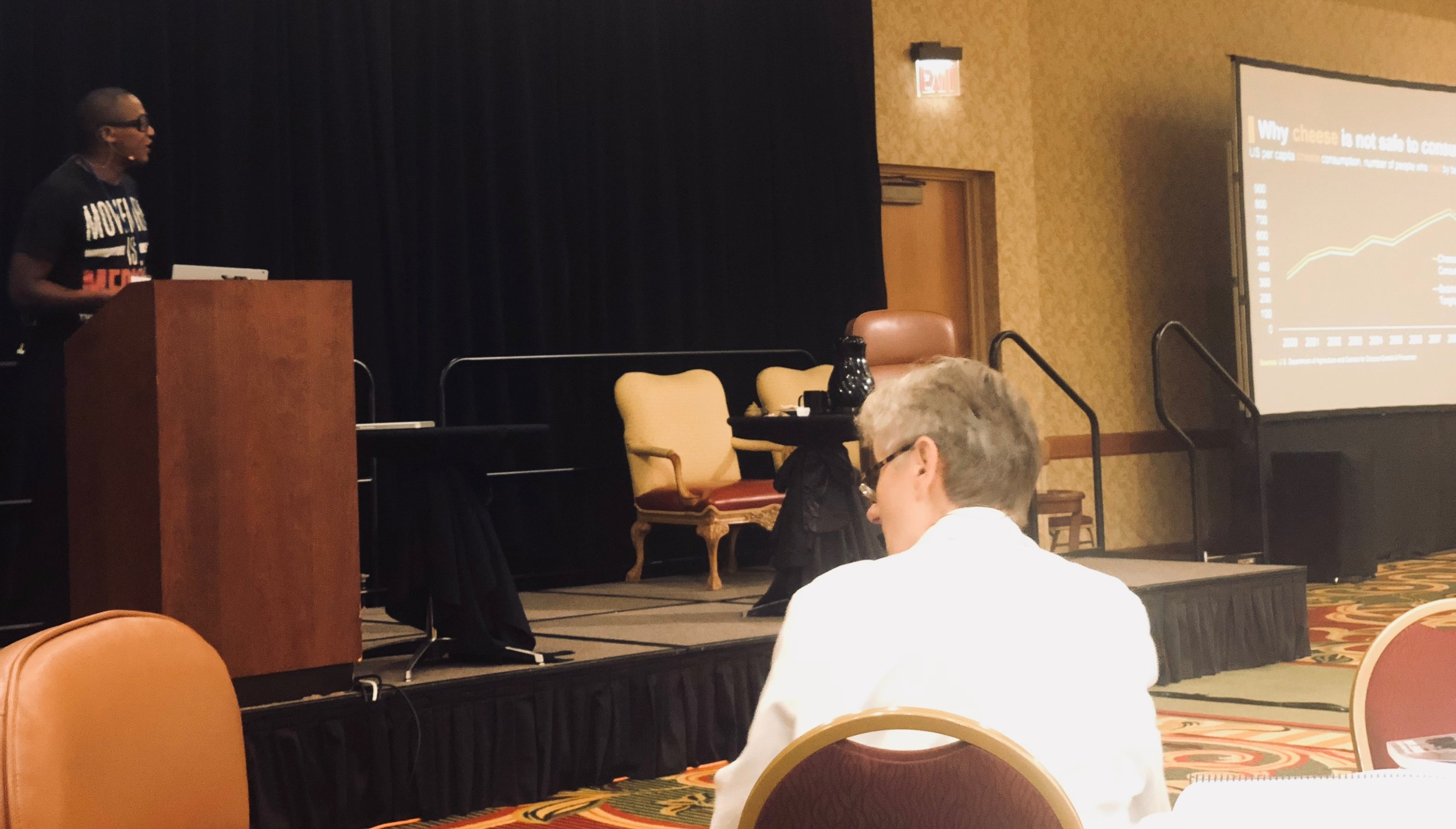 Presenting at Wahls Seminar, 2018