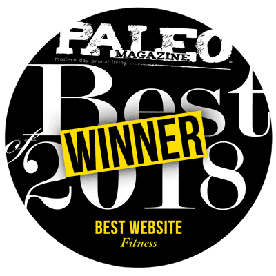 Paleo Magazine  Best Website Winner 2018